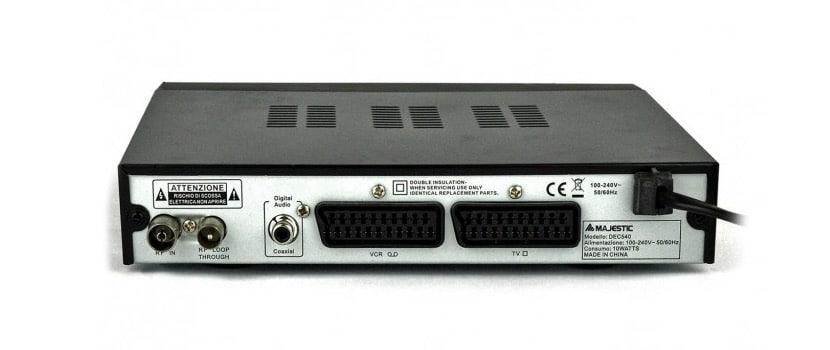 TDT con euroconector