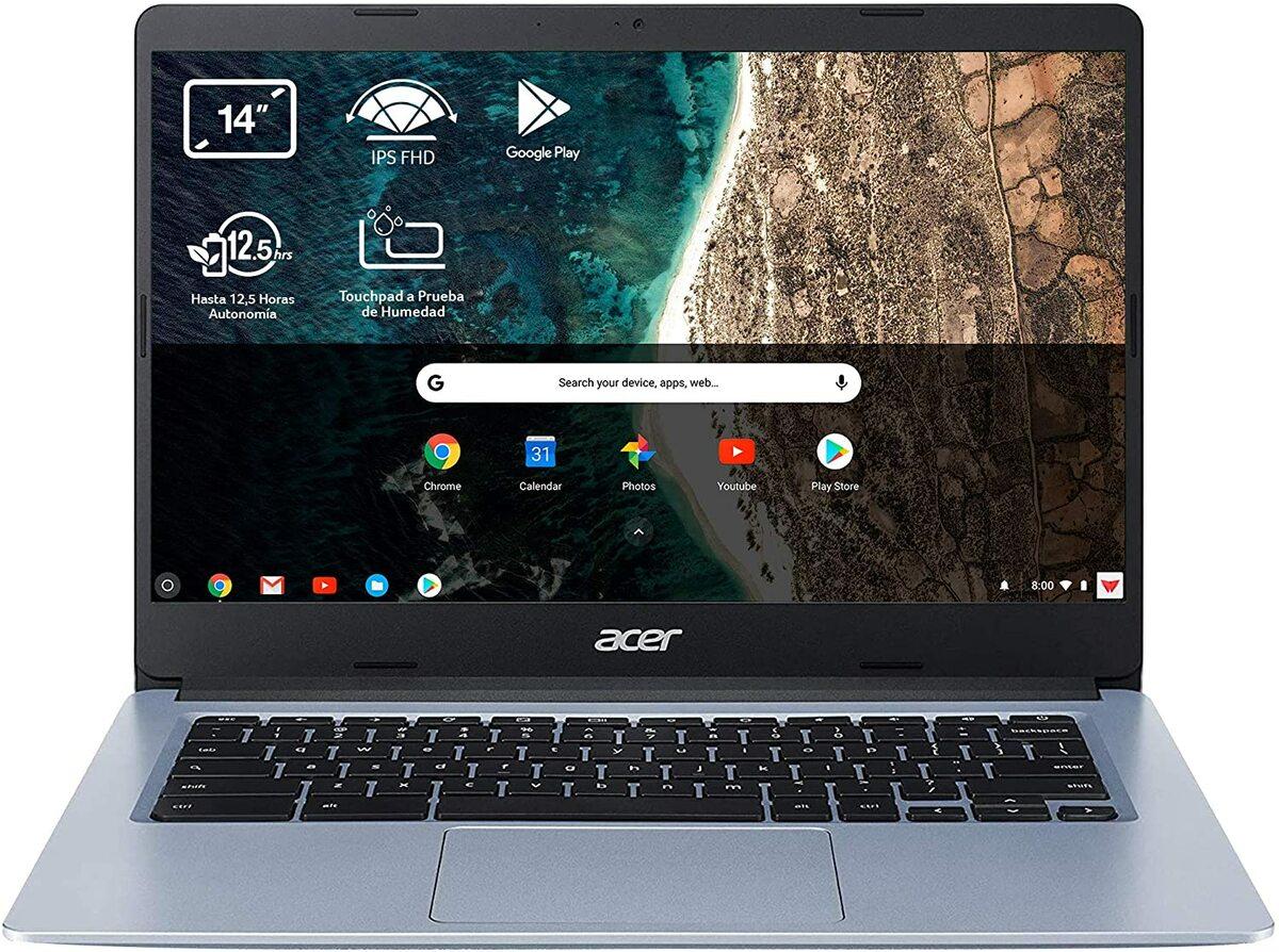 Un Chromebook no necesita internet para funcionar