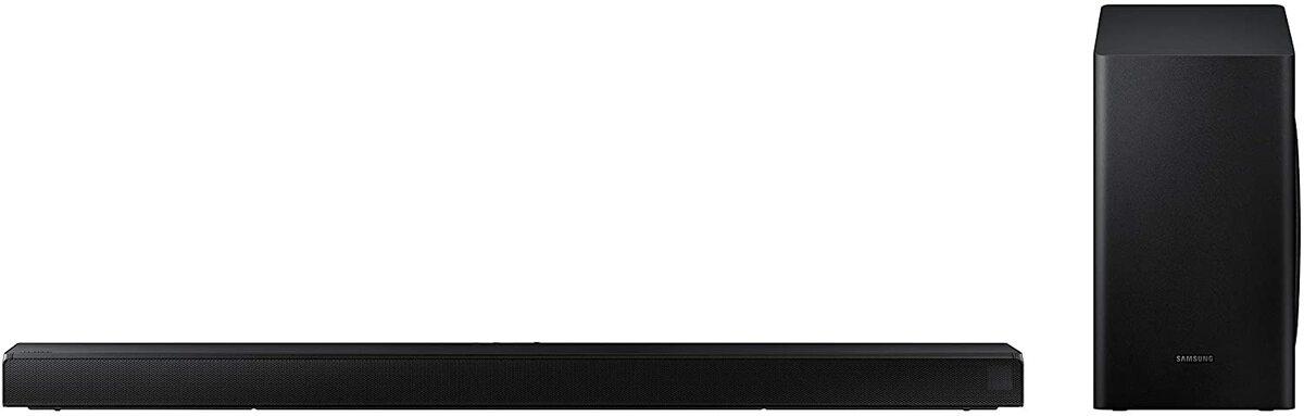 Una barra de sonido con subwoofer es más eficaz
