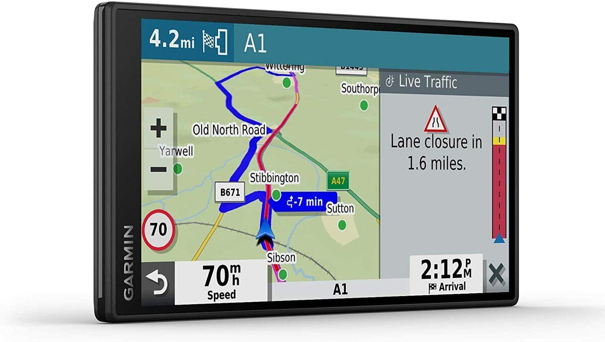 GPS para coche con pantalla grande