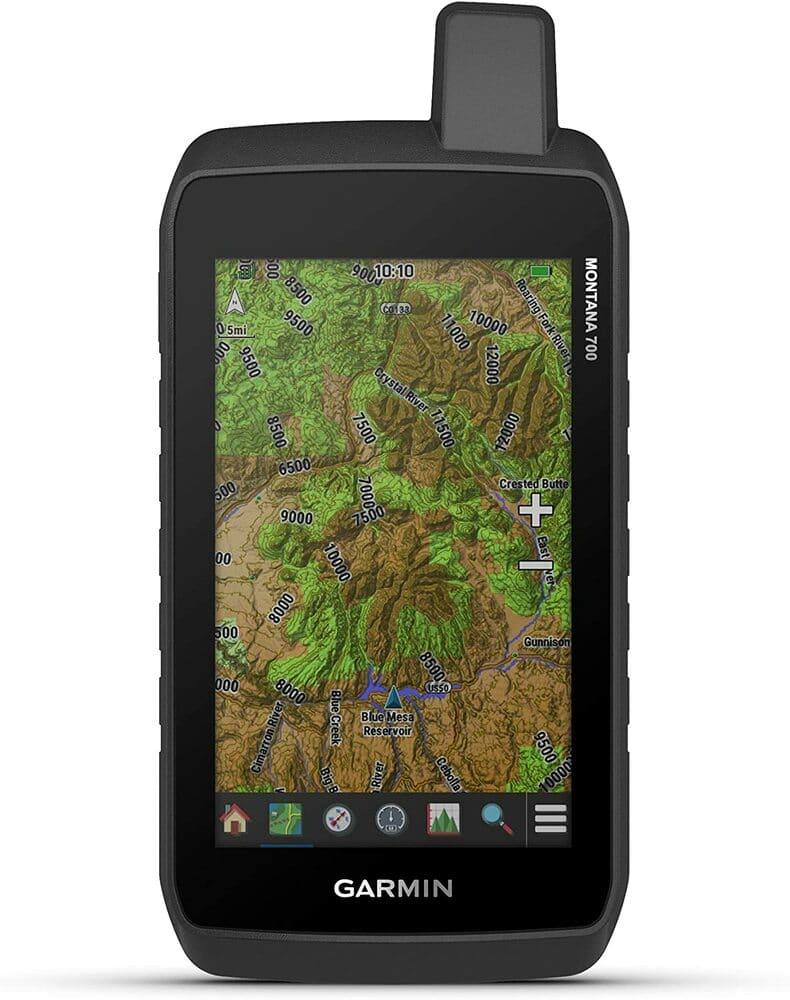 GPS de montaña con mapas