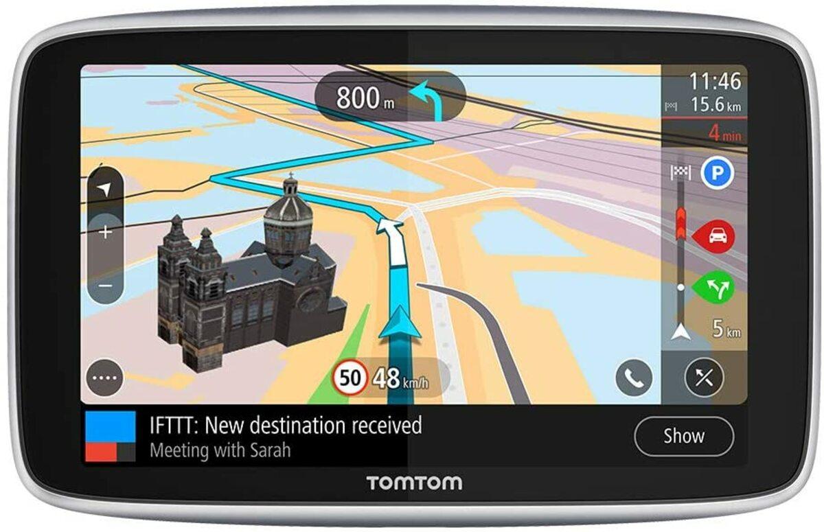 GPS con datos POI